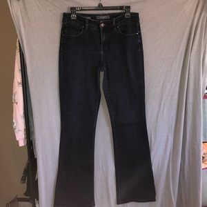 The limited! Curvy boot cut jeans. Size 8.